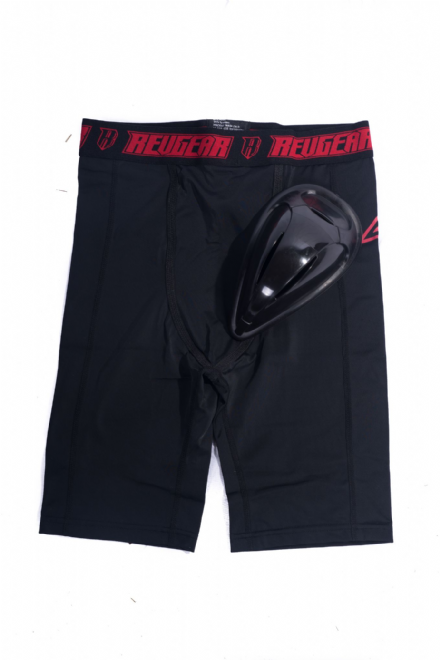 Adult's RevGear Compression Short with Protective Cup